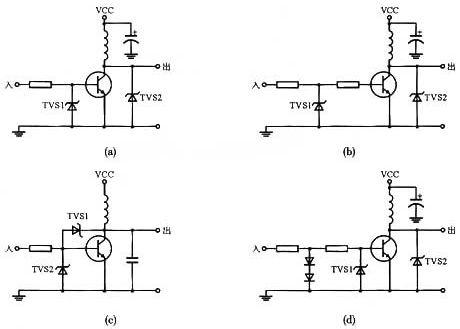 变压器,电动机)负载时,通常会产生高压反电势,因而可能使晶体管损坏.