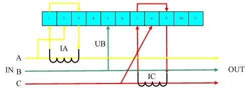 三相三线外接互感器电能表接线图-电能表接线图图片