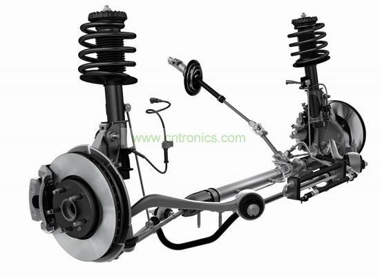 汽车制动系统,什么是汽车制动系统高清图片