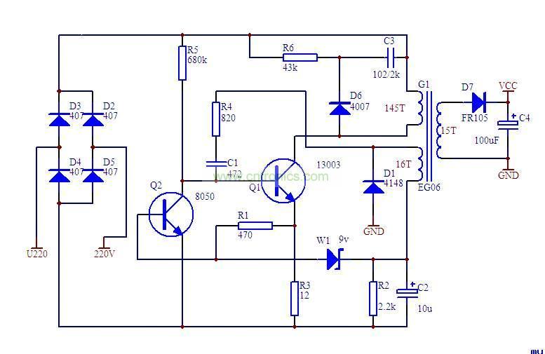 rcc电路原理与设计