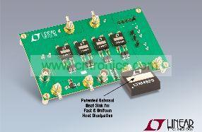 集成散热器的 DC/DC µModule 降压型稳压器提供高达 26A 电流