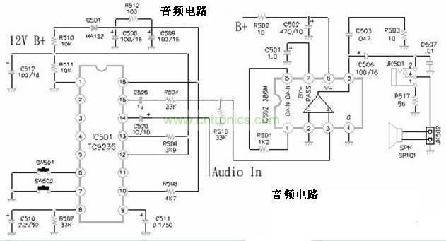 声音电路图分析