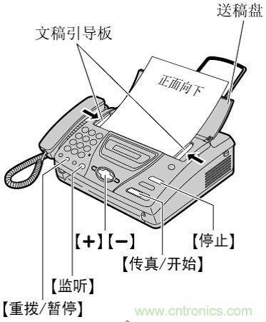 传真机的使用方法