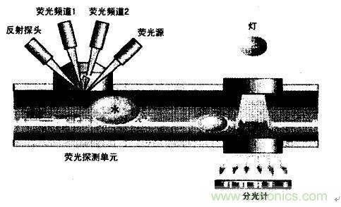 流体分析仪构造