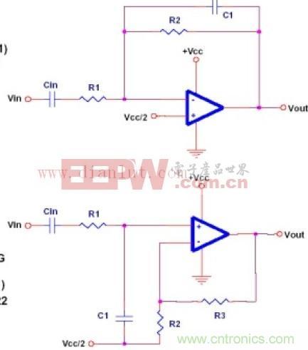 低通滤波器原理图
