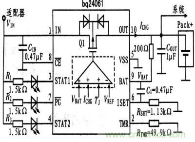 支持输入ovp的热调节电池充电器的设计