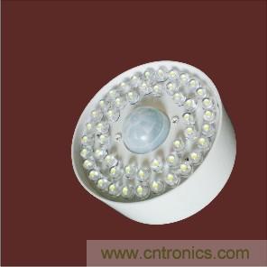LED楼道声控灯功能: LED声控灯集声控、光控、智能延时控制于一体的产品,白天光控作用下,灯具处于关闭状态;夜晚照度低于设定值后,光控开启,当有人走动发出声音时,灯光自动打开并延时关闭。 LED楼道声控灯特点: (1)、高效、节能、高亮,≤4.5W发光亮度相当于普通40W~60W白炽灯(20W节能灯) (2)、特殊封装技术使照幅增加,无普通LED照射角度小(电筒效果)的缺憾,照度均匀。 (3)、光控功能:在采光满足需要时,则不开启灯光,即白天灯有声音也不亮。 (4)、微秒级开灯响应,反复开关对L