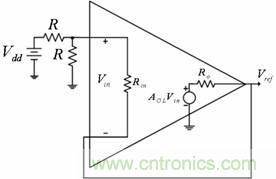 图2:Vref 缓冲分压器电压