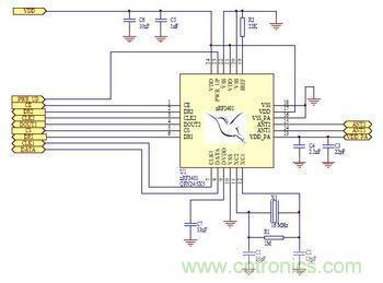 光电鼠标工作原理图