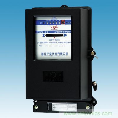 三相电度表用于测量三相交流电路中电源输出