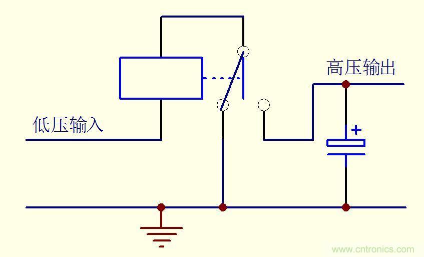 升压电路-基础知识-电子元件技术网电子百科