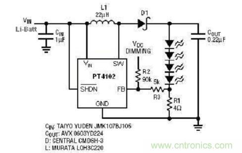 白光LED驱动IC选择要点
