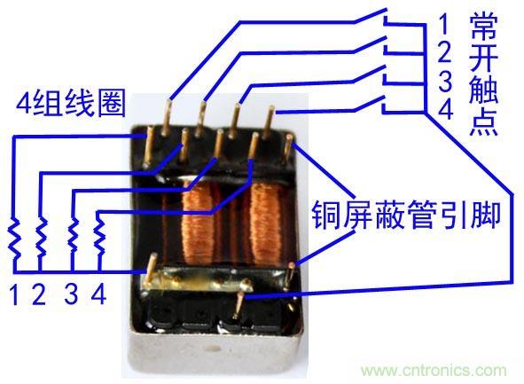 干簧继电器的分类、结构及选用原则