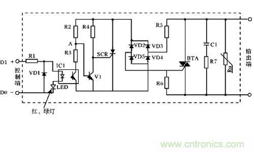 固态继电器工作原理
