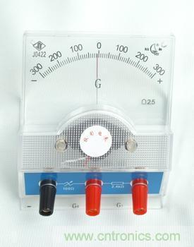 磁电系检流计   其结构和工作原理与磁电系电表基本