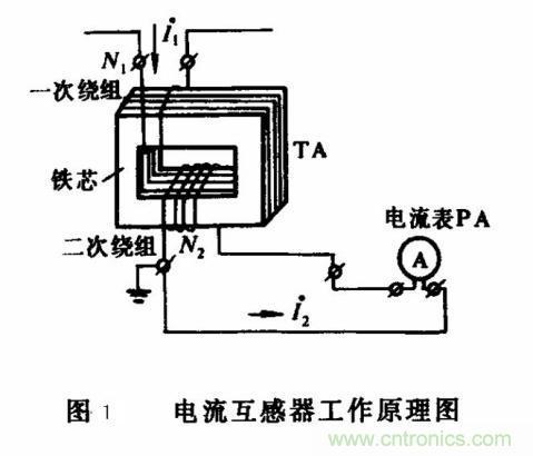 电压互感器原理