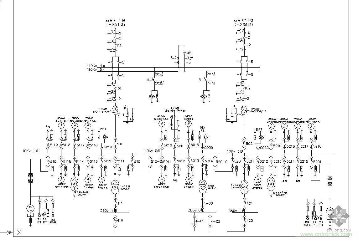 电气主接线图 基本要求 电气主接线应满足下列基本要求: 牵引变电所、铁路变电所电气主接应综合考虑电源进线情况(有无穿越通过)、负荷重要程度、主变压器容量和台数,以及进线和馈出线回路数量、断路器备用方式和电气设备特点等条件确定,并具有相应的安全可靠性、运行灵活和经济性。
