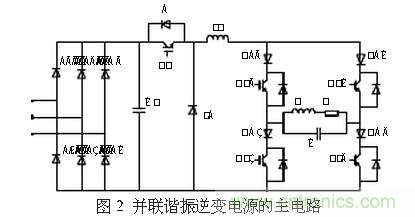 并联谐振逆变电源的电路设计