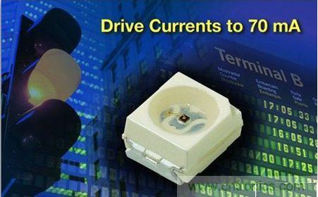 Vishay推可用于更高亮度指示牌的照明和控制应用的新款LED