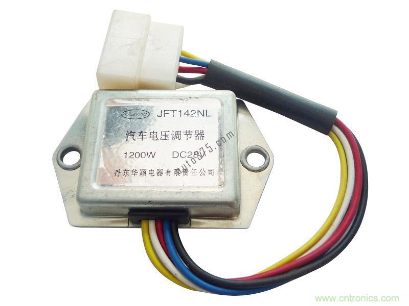 4v汽车发电机接线图 能给我一份汽车发电机的接线图