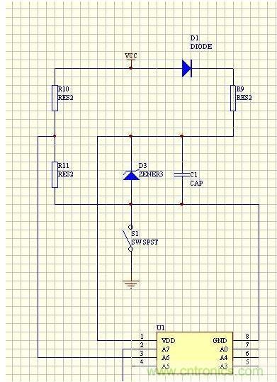 >> 拆手电筒,探可单键实现多种功能的电路设计  分析:1,s1为自锁开关