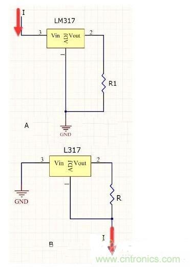 lm317恒流led电路