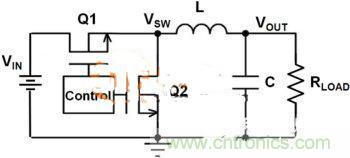 同步降压转换器电路图-提升DC DC降压转换器的性能,电容电感是关键图片