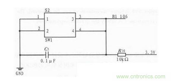 按键复位电路图_经典电路:FPGA电机测速系统如何工作?-电源管理-电子元件技术网