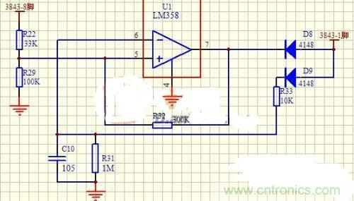 技术详解:三种实用的uc3842/3的外围电路