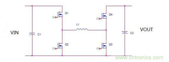 那么当M2再度回到最小占空比的时候,IC内部逻辑电路会认为模态需要再次转换了。此时,M2将固定在最小占空比,而M3则开始跳出最小占空比,可以逐渐展宽。理论上来说,这个过渡应该是完全无缝的切换,但是由于芯片内部的clock时序的切换,也会对输出造成一种动态效应。