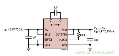 拥有超低电磁辐射的高压充电泵-emi/emc-电子元件技术