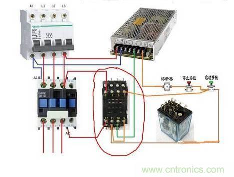 中间继电器与交流接触器的区别在哪里?