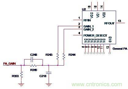 从而控制功率放大电路的增益