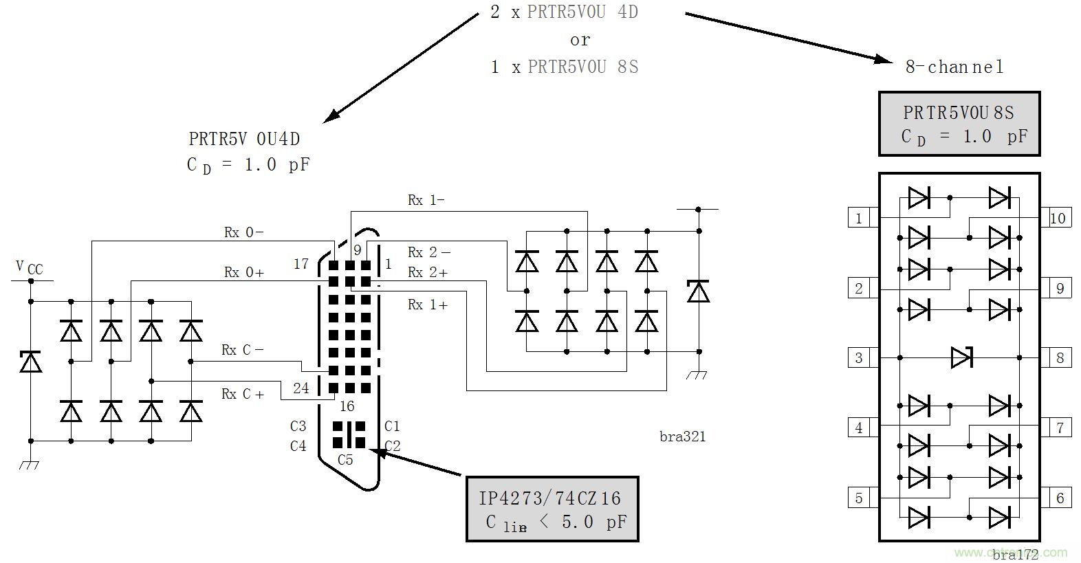 esd器件在保护电路中的十大应用-电路保护-电子元件