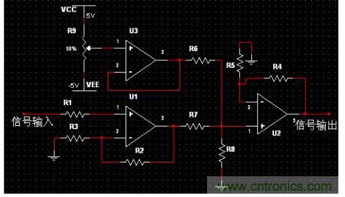 信号调理电路要完成的功能是:程控放大