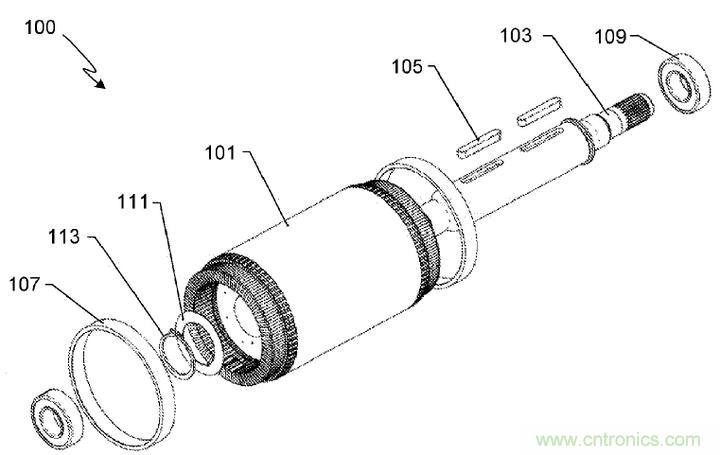 特斯拉感应电机转子专利解析