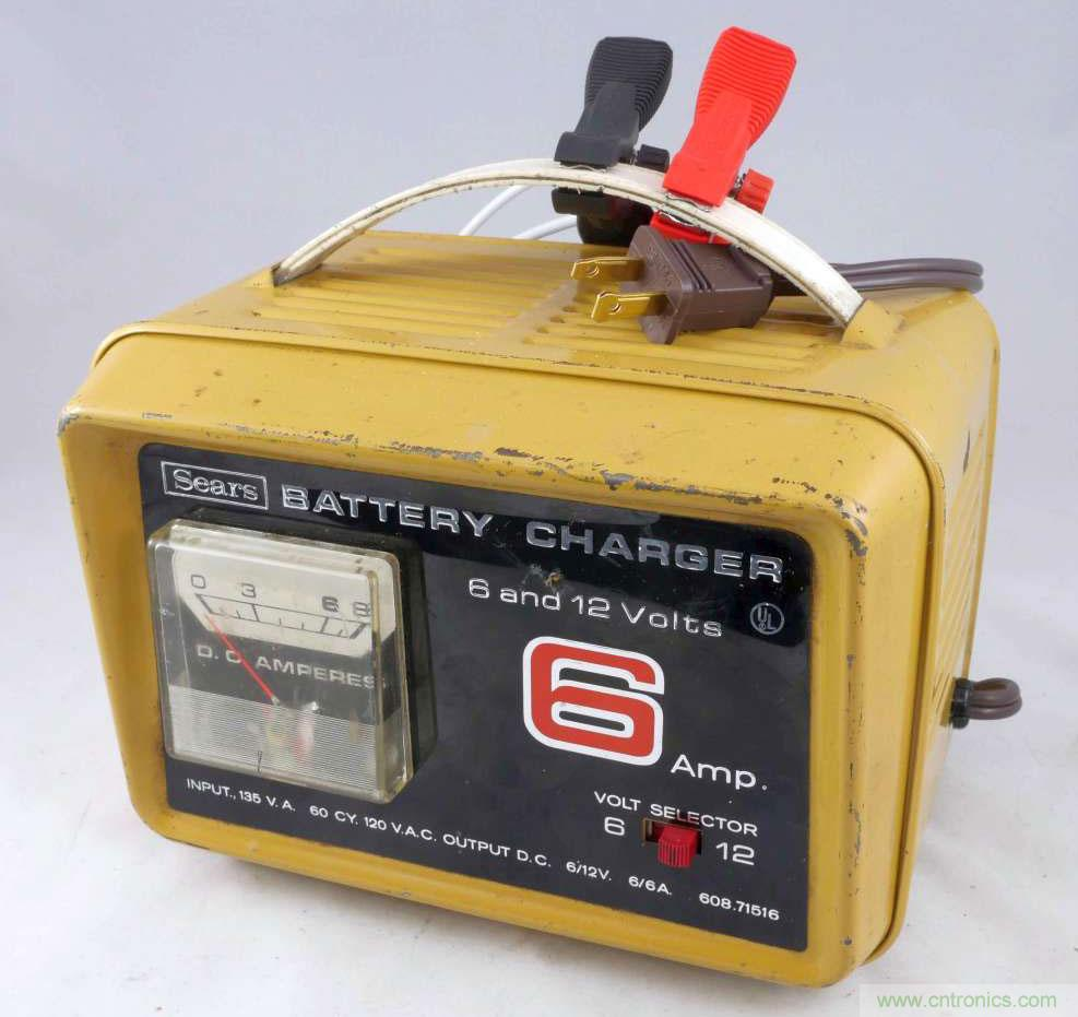 Sears_6_amp_battery_charger_F1