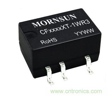 新一代汽车级DC/DC电源模块CF0505XT-1WR3上市