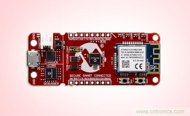 Microchip推出MCU开发板,轻松一点即可创建安全的连网应用