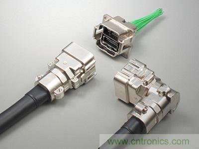 JAE成功开发产业设备用方型全塑料KN02系列连接器