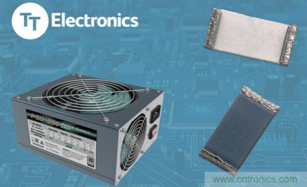 TT Electronics推出业内首批无铅厚膜高压电阻器