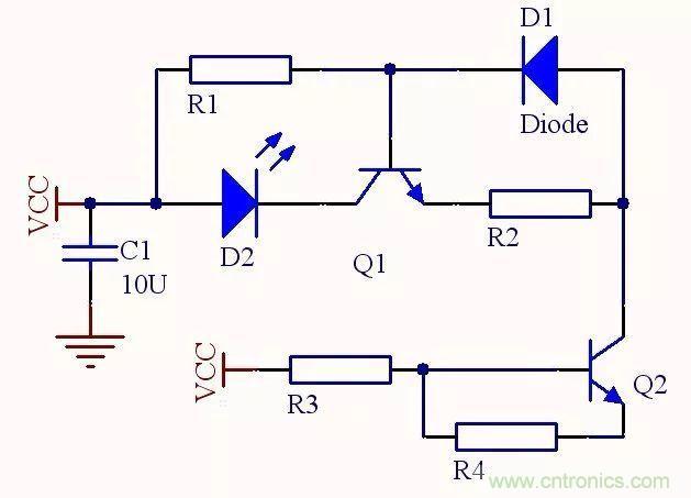 传感技术 >> 深度解析红外测距技术  电路工作原理:在共射放大电路中
