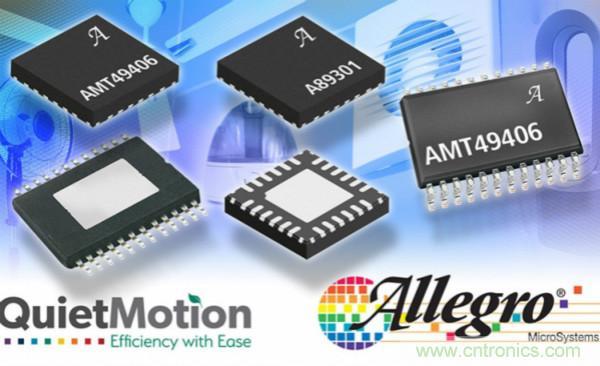 Allegro发布无需编码FOC无感BLDC风扇驱动器产品系列