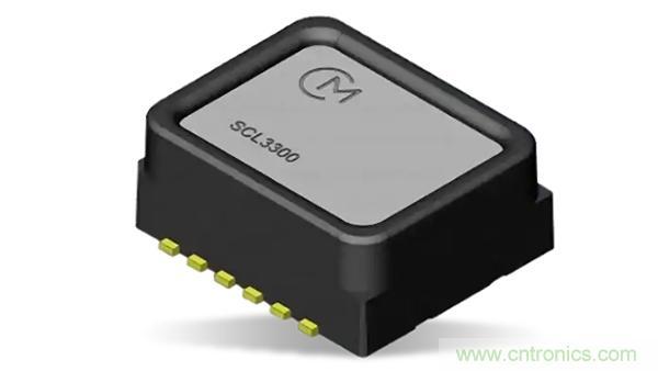 村田推出Murata Electronics SCL3300倾角传感器