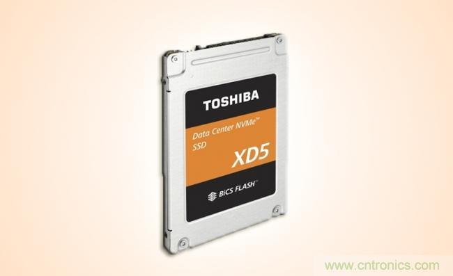 东芝为其数据中心NVMe SSD新增2.5英寸外形产品