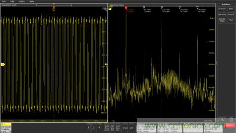 泰克推出Spectrum View(频谱视图)全新分析工具