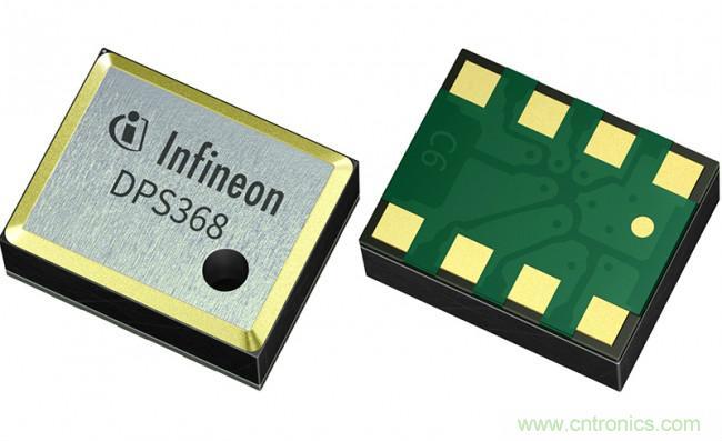 英飞凌推出超小型气压传感器DPS368
