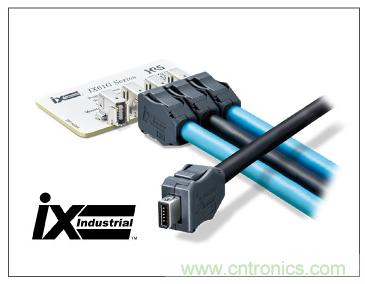 SIEMENS AG开发的伺服驱动系统采用IEC规格标准的小型连接器——ix Industrial