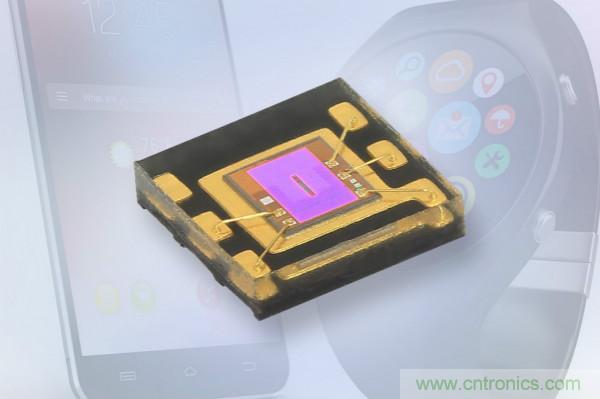 Vishay推出专门针对可穿戴设备和智能手机的环境光传感器