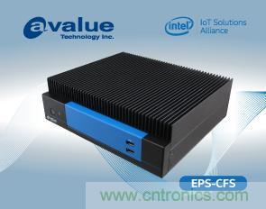 安勤推出搭载Intel Coffee Lake强固型无风扇嵌入式系统EPS-CFS